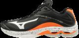 Mizuno wave Lightning z6 | Black/Orange_