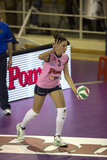 Errea volleybalsokken active   Lang   wit_