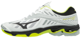 Mizuno wave Lightning Z4   White/Safety Yellow_