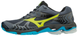 Mizuno wave Bolt 7 | Ombre Blue/Safety Yellow/Black_