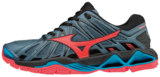 WAVE TORNADO X2 | dames | Blue Mirage/Fiery Coral/Black_