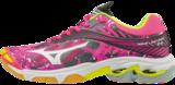 Mizuno Wave Lightning Z4 | dames | camouflage roze | SALE_