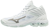 Mizuno wave Lightning Z5 MID hoog | dames | wit_