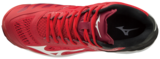 Mizuno wave Lightning Z5 | MID | rood-zwart_