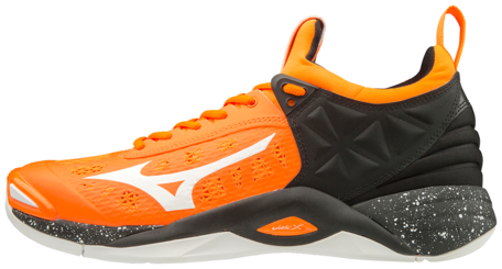 Mizuno wave Momentum | Black/Orange