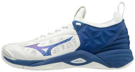 Mizuno wave Momentum | White/Blue