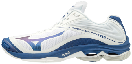Mizuno wave Lightning z6 | White/Blue