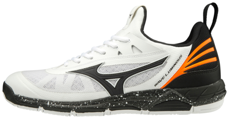 Mizuno wave Luminous | White/Black/Orange