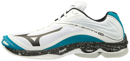 Mizuno wave Lightning z6 | wit groen