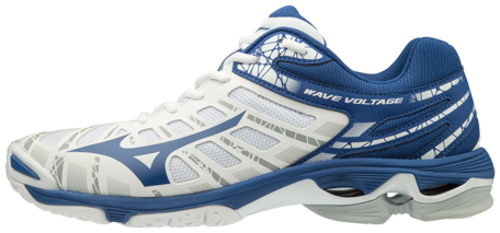 Mizuno wave Voltage | wit blauw