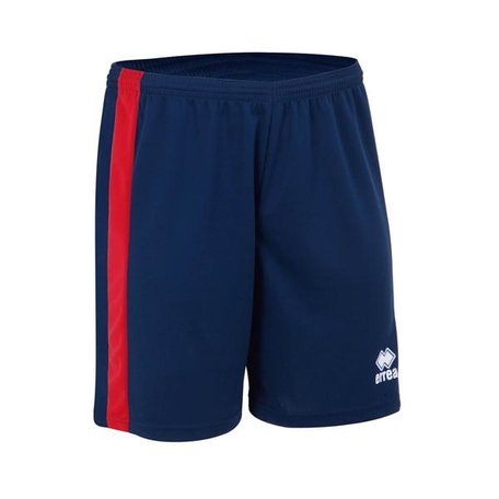 Errea Bolton short | heren | outlet | zwart-rood
