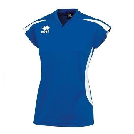 Errea dames shirt Ray kobalt blauw