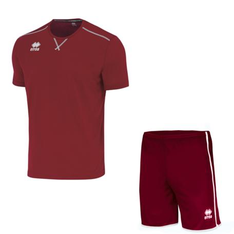 Errea Everton wedstrijdtshirt +  New Skin short