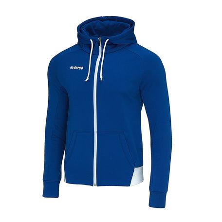 Adam sweater met rits blauw maat L