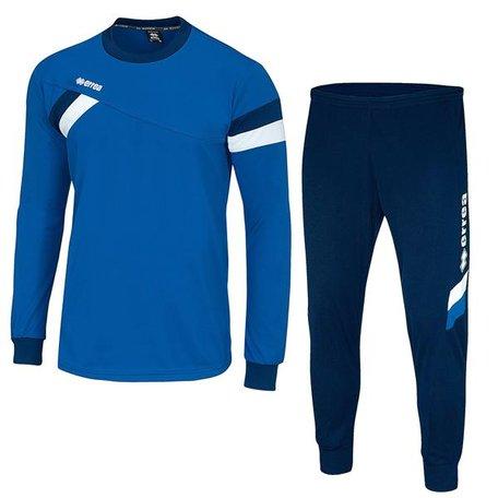 Forward set blauw/wit compleet met broek maat M