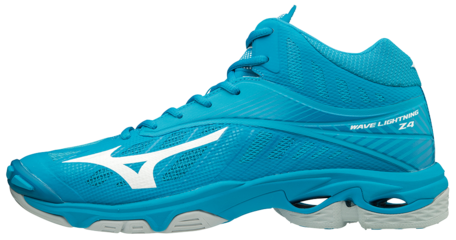 Mizuno wave Lightning Z4 | MID | Blue Jewel/White/Hawaiian