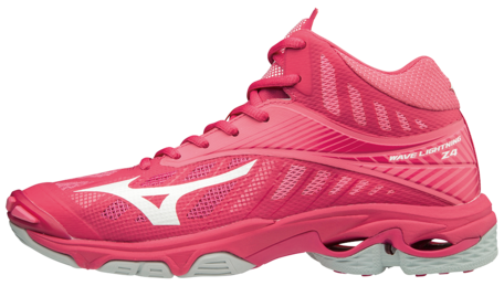 WAVE Lightning Z4 MID | Dames | Azalea/White/Camellia Rose