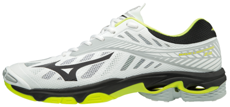Mizuno wave Lightning Z4 | White/Safety Yellow