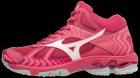 WAVE Bolt 7 MID | Dames | Azalea/White/Camellia Rose