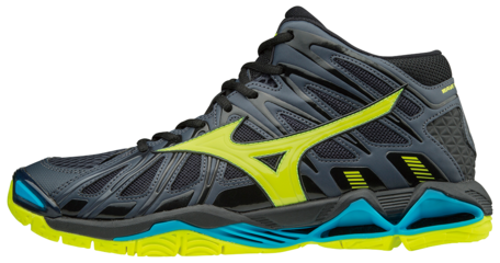 WAVE TORNADO X2 MID | Ombre Blue/Safety Yellow/Black