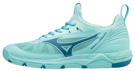 Mizuno wave Luminous | Dames | lichtblauw