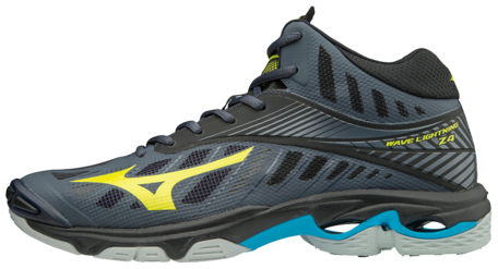 Mizuno wave Lightning Z4 MID | OMBRE BLUE/SAFETY YELLOW/BLACK