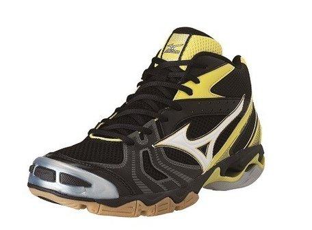 Mizuno wave Bolt 2 midhoog  zwart/geel