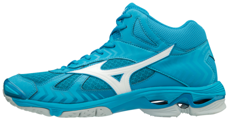 Mizuno wave Bolt 7 MID | Jewel Blue