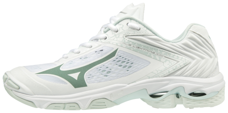 Mizuno wave Lightning Z5 | dames | wit