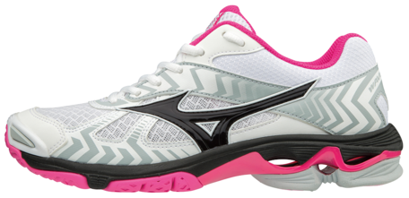 WAVE Bolt 7 | Dames | wit/roze maat 41