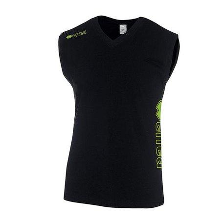 Errea Canotta beach shirt katoen zwart SALE