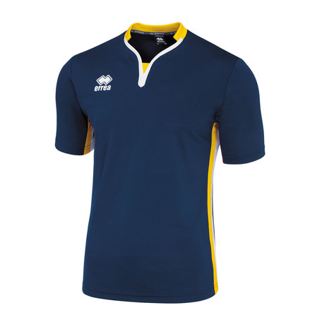 Errea Eiger shirt | navy/yellow/white