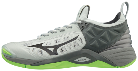 Mizuno Momentum | Grey/Black/Green