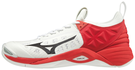 Mizuno Momentum | White/Red/Black