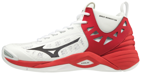 Mizuno Momentum | MID | White/Red