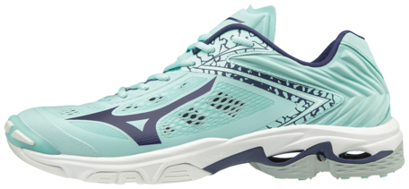 Mizuno wave Lightning Z5 | Dames | Blue Light