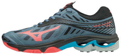 WAVE Lightning Z4 | Dames | Blue Mirage/Fiery Coral/Black