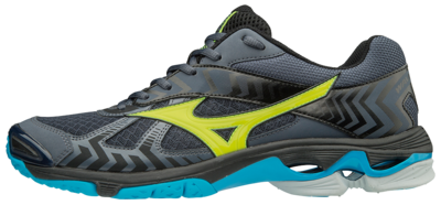 Mizuno wave Bolt 7 | Ombre Blue/Safety Yellow/Black