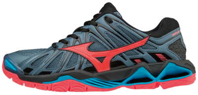 WAVE TORNADO X2 | dames | Blue Mirage/Fiery Coral/Black