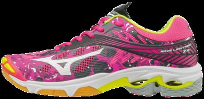 Mizuno Wave Lightning Z4 | dames | camouflage roze | SALE