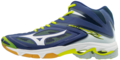 Mizuno-Wave-Lightning-Z3-|-MID-|-Navy-|-SALE