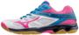 Mizuno Thunder Blade dames | meisjes | wit/roze/blauw | SALE_8